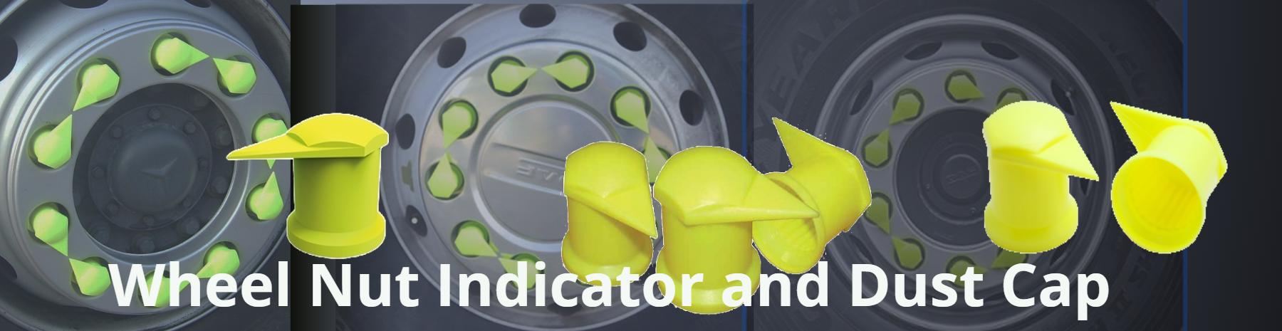 Wheel Nut Indicator and Dust Cap
